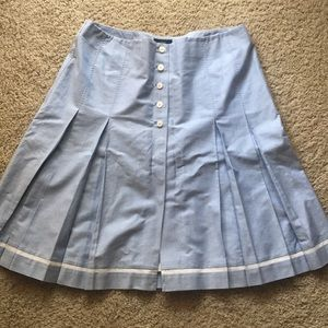 Brooks Brothers 346 Blue and White Sailor Skirt